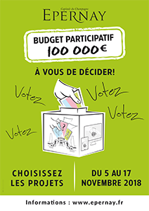 Budget participatif 2018 Epernay