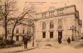 Carte postale du théâtre vu depuis le Chapon fin, collection privée, Archives municipales d'Épernay