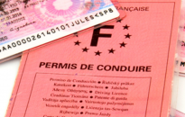 Photo d'un permis de conduire