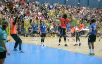 25/08 - Match de handball amical entre Sélestat et Nancy au Hall des Sports Pierre-Gaspard